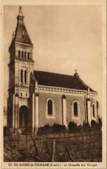 Sainte-Maure-de-Touraine - la chapelle des vierges - Sainte-Maure-de-Touraine