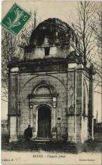 Blere - Chapelle jehan - Bléré
