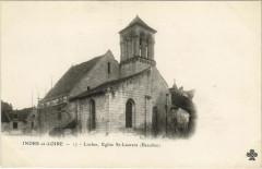 Loches Eglise St-Laurent - Loches