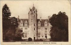 Env. D'Avoine - Chateau de coulaine - Avoine