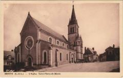 Monts - l'Eglise St-Pierre-de-Monts - Monts