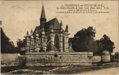 Champigny-sur-Veude La Sainte Chapelle de St-Louis - Champigny-sur-Veude