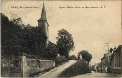 Chancay - Eglise, Mairie, Ecoles Rue Centrale - Chançay