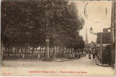 NEUILLÁ-Pont-Pierre - place du mail et rue basse - Neuil