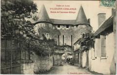 Villeloin-Coulange Entrée de l'ancienne Abbaye - Villeloin-Coulangé