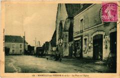 Marcilly sur Vienne - La Place et l'Eglise - Marcilly-sur-Vienne