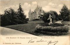 L'Ile Bouchard - Snt-Maurice - Le Chateau de Temple - L'Île-Bouchard