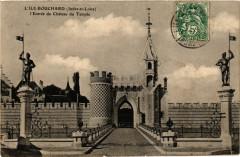 L'Ile-Bouchard - L'Entrée du Chateau du Temple - L'Île-Bouchard