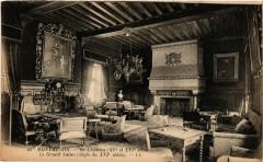 Montrésor - Le Cháteau (Xv et Xvi s) -Le Garnd Salon Style du Xvi s 37 Montrésor