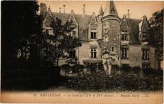 Montresor - Le Chateau (Xv et Xvi siécles) - Facade Nord 37 Montrésor
