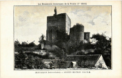 Montresor - Ancien Chateau Coté S.-E 37 Montrésor