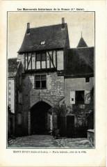 Saint-Epain - Porte laterale - Saint-Épain