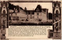 Villandry - Le Chateau qui portail autrefois le nom de Colombiers - Villandry