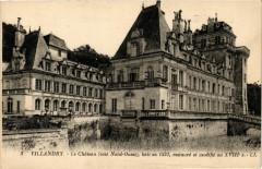 Villandry - Le Chateau (coté Nord-Ouest) - bati en 1532 restauré - Villandry