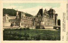Villandry - Le Chateau (Fin du Xvi siécle) - Villandry
