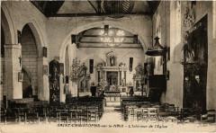 Saint-Christophe-sur-le-Nais - L'Intérieur de l'Eglise - Saint-Christophe-sur-le-Nais