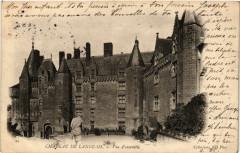 Chateau de Langeais - Vue d'ensemble 37 Langeais
