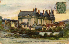 Chateau de Langeais - Construction du Xiii siécle 37 Langeais