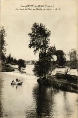 Saint-Martin-le-Beau - Les bords du Cher au Moulin de Nitray - Saint-Martin-le-Beau