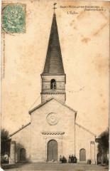 St-Nicolas-de-Bourgueil - L'Eglise - Bourgueil
