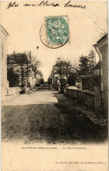 Saint-Epain - La Rue Principale - Saint-Épain