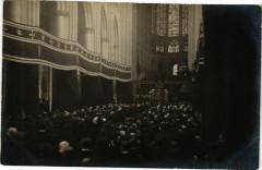 Carte photo Tours - Messe Intérieur de l'Eglise 37 Tours