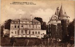 Verneuil-sur-Indre-Le Chateau et le Donjon-Facade Sud-Ouest - Neuil