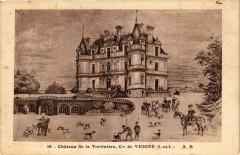 Chateau de la Tortiniere-Cne de Veigné - Veigné