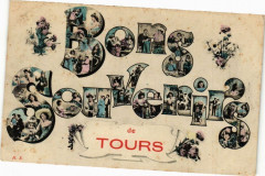 Bons Souvenir de Tours 37 Tours