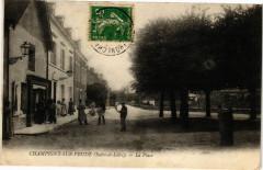 Champigny-sur-Veude - La Place - Champigny-sur-Veude