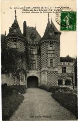 Chouzé-sur-Loire - Port Boulet - Chateau des Réaux (Xv s) - Chouzé-sur-Loire