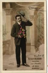 De Marigny-Marmande recevez ces Fleurs et mes Amitiés - Marigny-Marmande