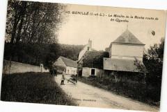 Genillé - Le Moulin de la Roche route de St-Quentin - Genillé