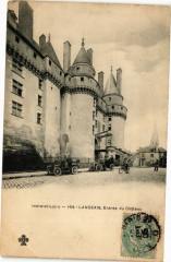 Indre-et-Loire - Langeais Entrée du Chateau 37 Langeais