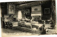 Montresor - Le Chateau - (Xv et Xvi s.) - Le Grand Salon (Style du 37 Montrésor