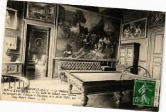 Montresor - Le Chateau (Xv XVIs.) La Salle de billard.. 37 Montrésor