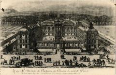 Le Chasteau de Richelieu en Poictou du costé de l'Entrée 37 Richelieu