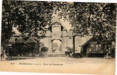 Richelieu (I. et L.) - Porte de Chatellerault 37 Richelieu