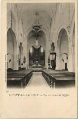 Loigny-la-Bataille - Vue interieure de l'Eglise - Loigny-la-Bataille