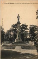 Loigny-la-Bataille Monument du Sacre-Coeur dans le Bois des Zouav - Loigny-la-Bataille