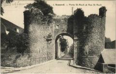 Bonneval - Porte St-Roch et Rue St Roch - Bonneval