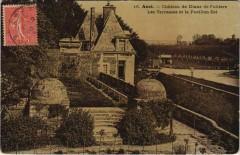 Anet Chateau de Diane de Poitiers Les Terrasses et le Pavillon.. - Anet