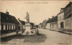 Bu - La Place du Monument - Bû