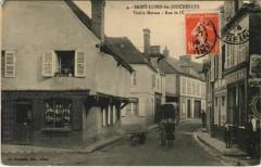 Saint-Lubin des-Joncherets - Vieille Maison - Rue de l'Eglise - Saint-Lubin-des-Joncherets