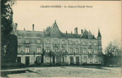 Charbonnieres - Le Chateau (facade Nord) - Charbonnières