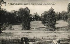Authon-du-Perche - Chateau de la Goguerie - Sur la Route au-dessus - Authon-du-Perche