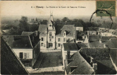 Toury-La Mairie et la Carré de l'ancien Chateau - Toury