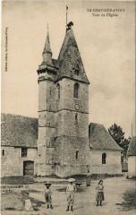 La Chaussée - d'Ivry Tour de l'Eglise - La Chaussée-d'Ivry