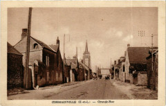 Eure-et-Loir Cormainville Grande Rue - Cormainville
