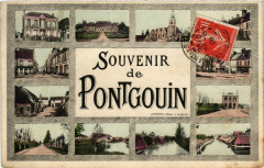 Pontgouin - Scenes - Souvenir de Pontgouin - Pontgouin